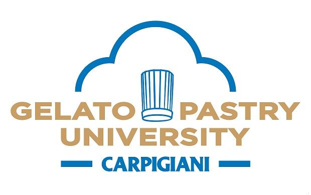 carpigiani gelato pastry university logo