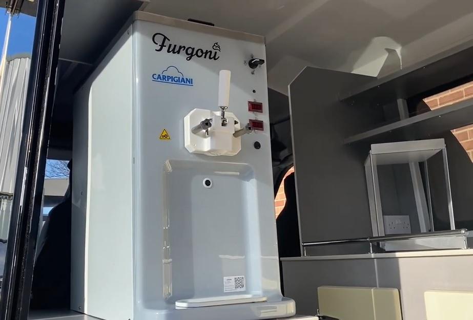 Furgoni Soft ice cream machine by Carpigiani
