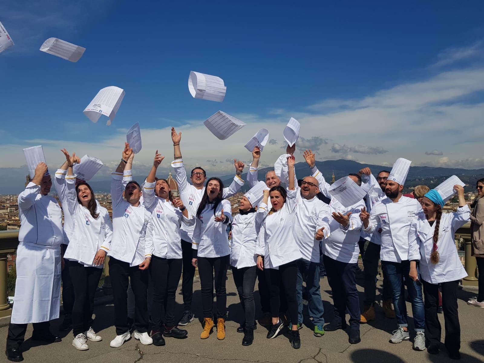 partecipanti gelato festival 2019 firenze