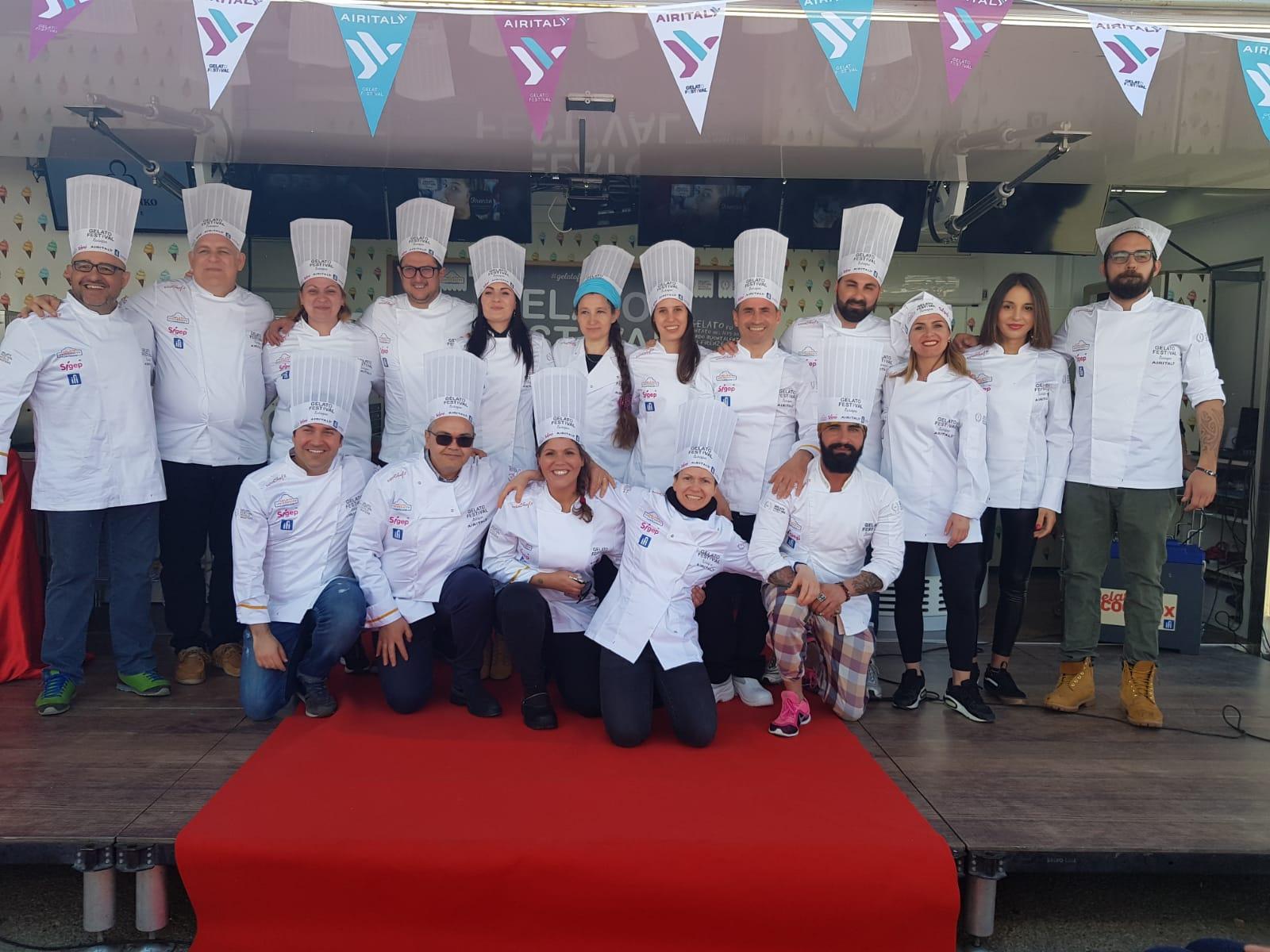 participanti gelato festival 2019 firenze