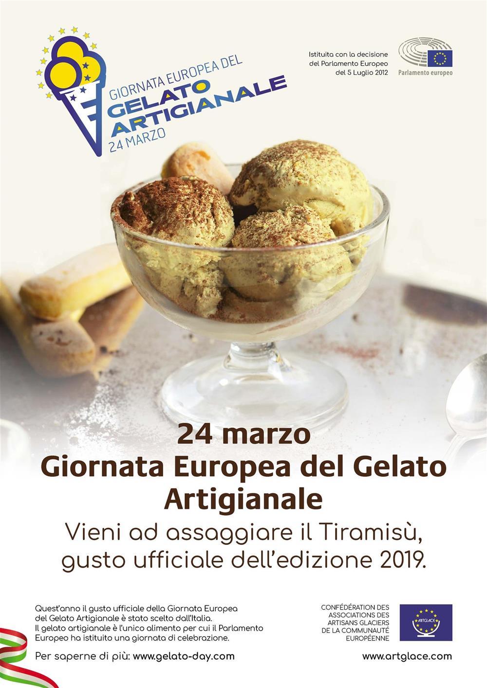 Locandina gelato day 2019