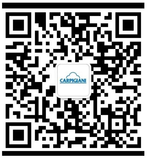 Carpigiani WeChat official phone number