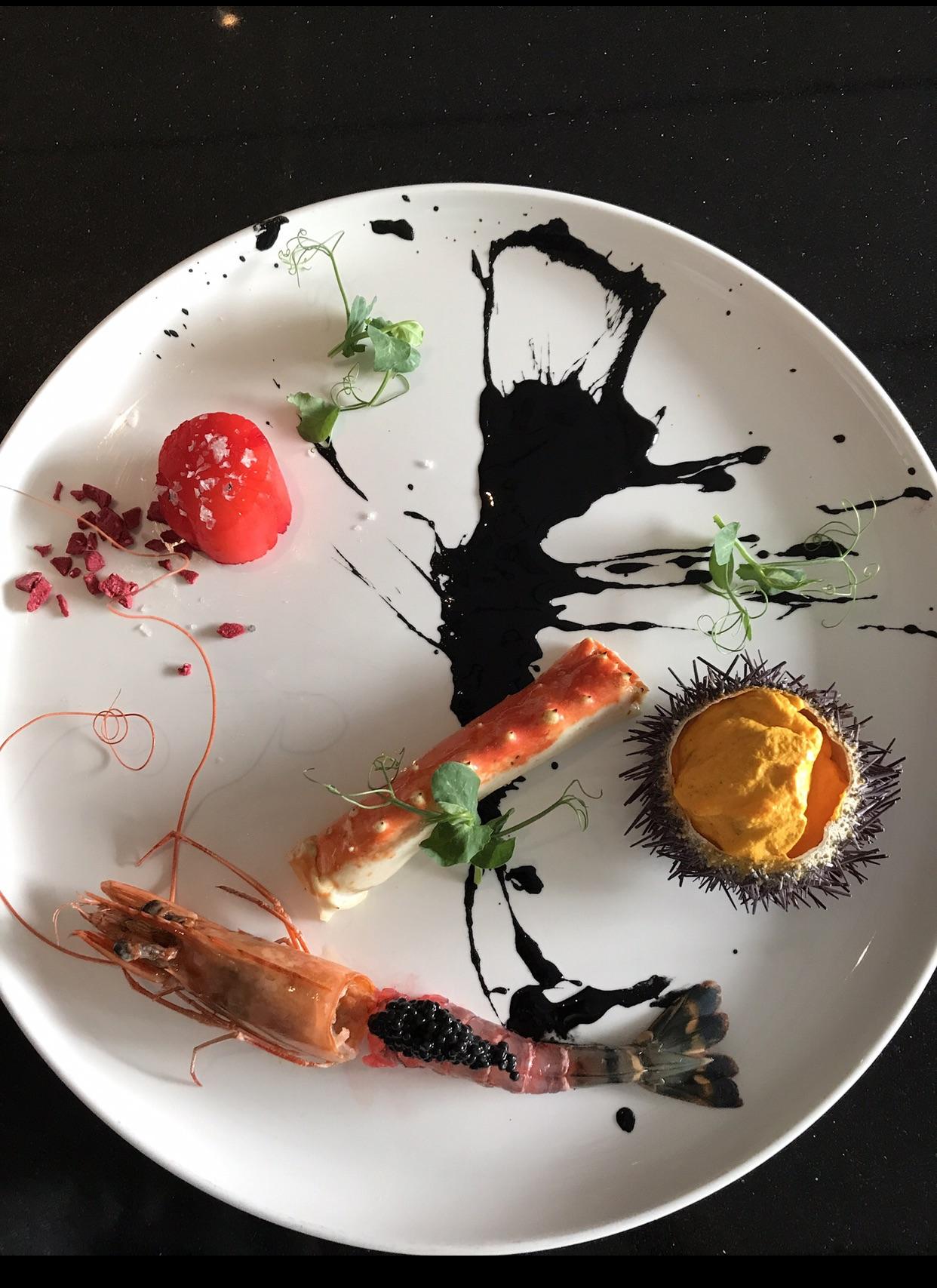 sea urchin gelato