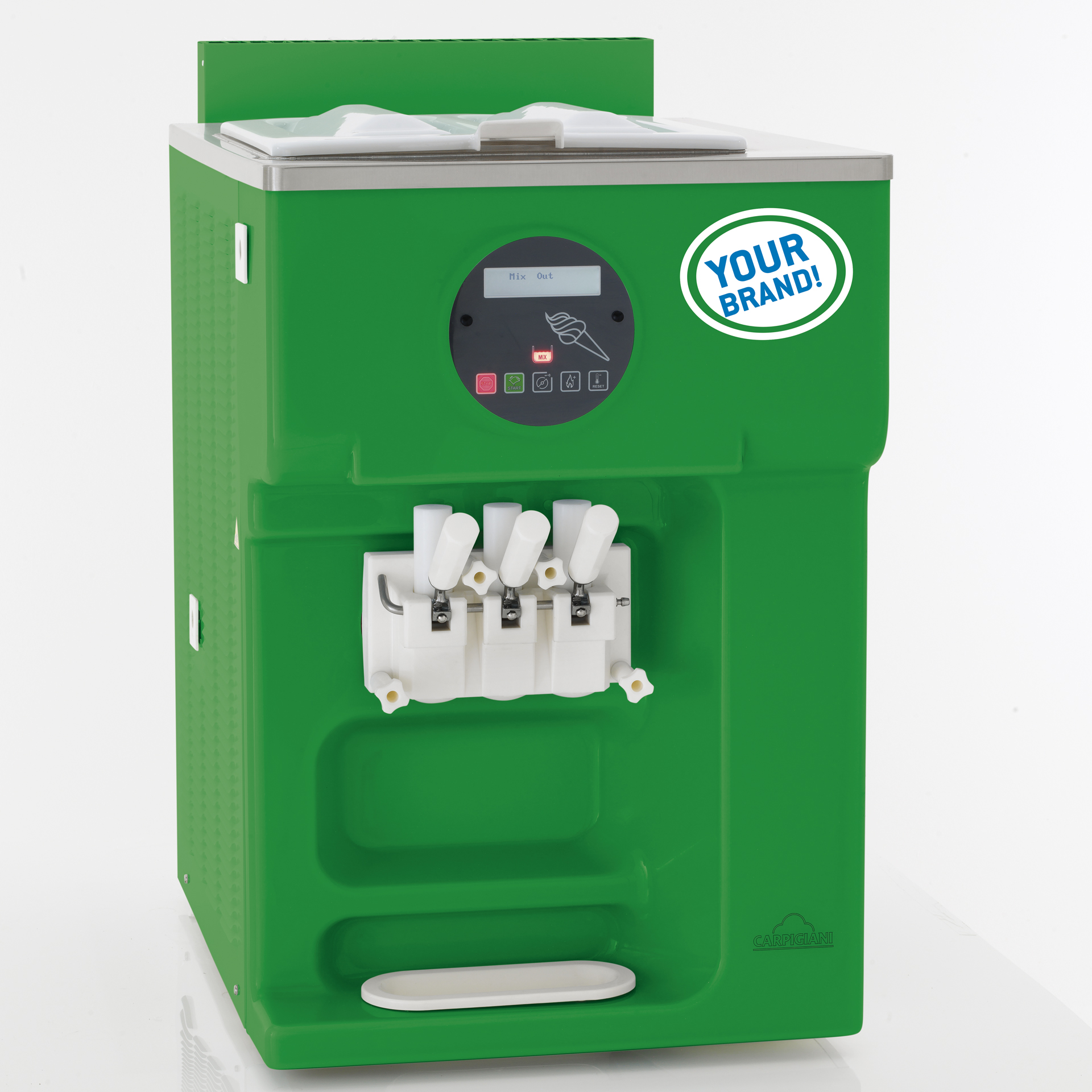Carpigiani Soft Serve Machine - Total Only You and Your Brand Personalization