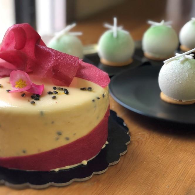 racca auge gelato pastry